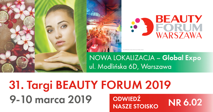 18. Targi BEAUTY FORUM 9-10.03.2019