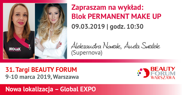 31. Targi BEAUTY FORUM 9-10.03.2019